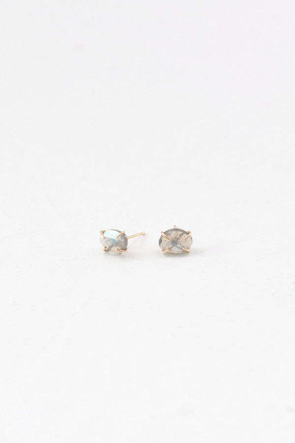 MJM Labradorite Stud Earrings