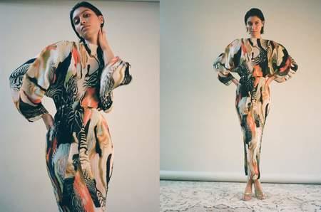 Julia Heuer Cassey Ramo Dress