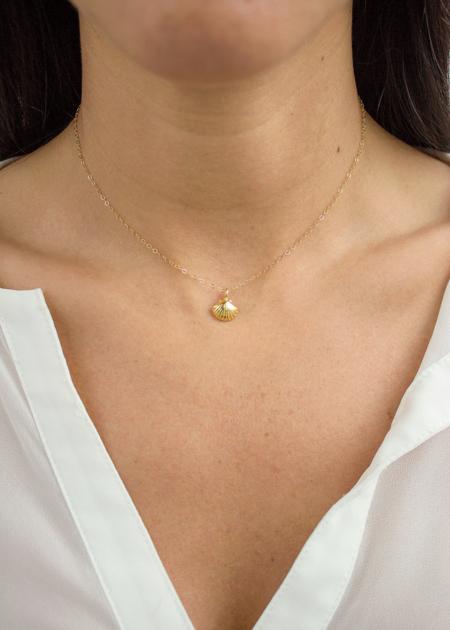 Christine Elizabeth Jewelry Aphrodite necklace - 14K gold filled