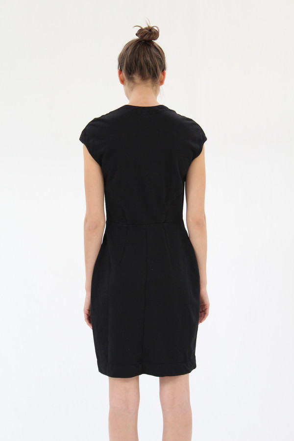 Prairie Underground Go Ask Alice Dress Black