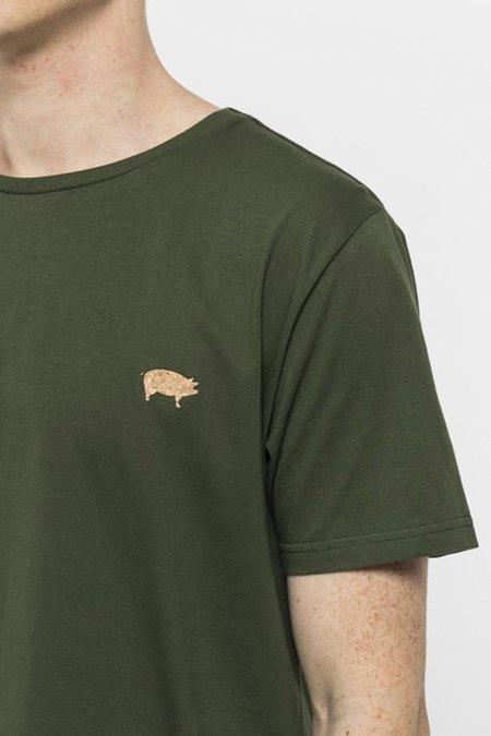 REVOLUTION PRINTED T-SHIRT - PIG