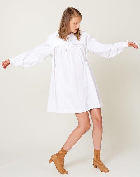 Sandy Liang Crash Dress - White