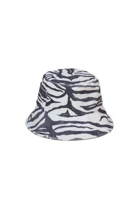 Lack of Color WAVE BUCKET HAT - zebra
