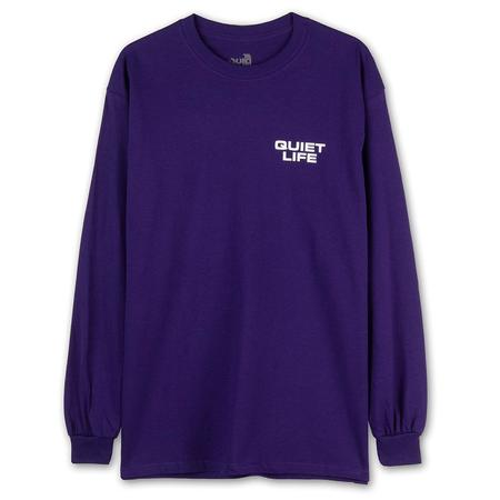 Quiet Life New Ways Long Sleeve T-shirt - Purple