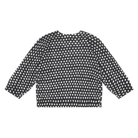 Kids Bonton Cardigan - Grey/Dots