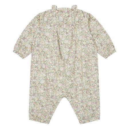 KIDS Bonton Baby Sol Floral Liberty Print Jumpsuit - Pink