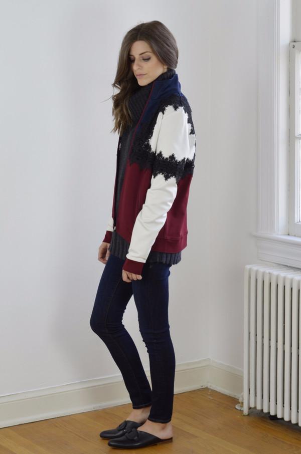 Ganni Rogers Jacket Block Color