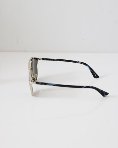 [pre-loved] Christian Dior So Real Sunglasses - Blue/Silver