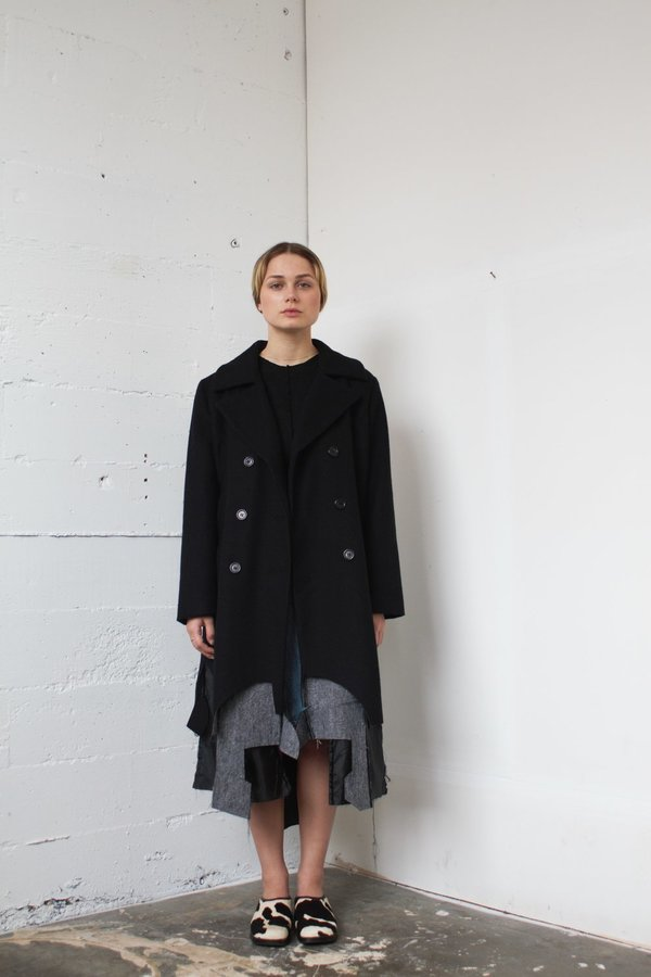Alexa Stark Wool Coat