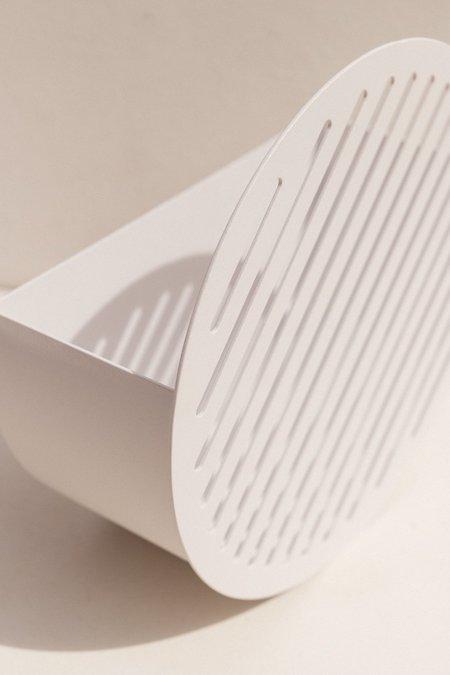 Swedish Ninja Wall Basket - White