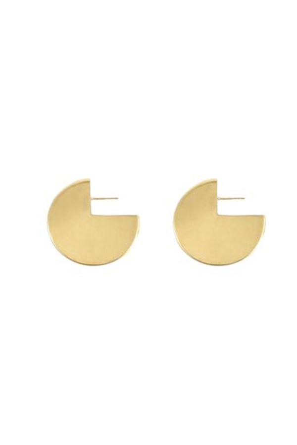 young frankk circle earrings