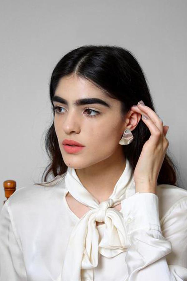 young frankk trine earrings