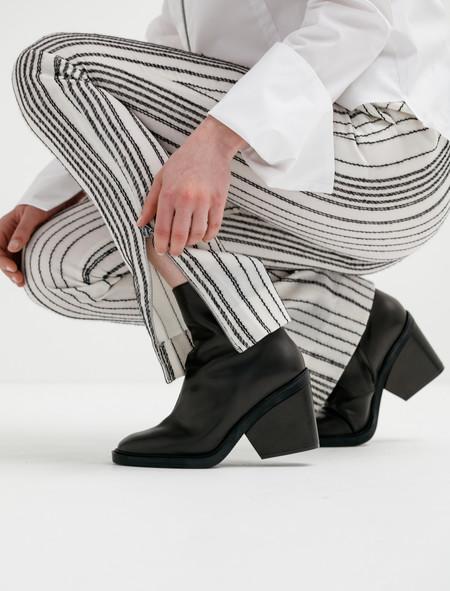 Etienne Deroeux Womens Roberta Zip Pants