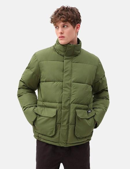 Dickies Olaton Puffa Jacket - Army Green