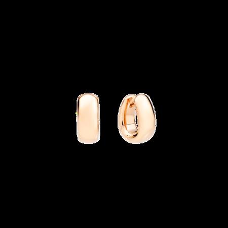 Pomellato Iconica Bold Earrings - 18k Rose Gold
