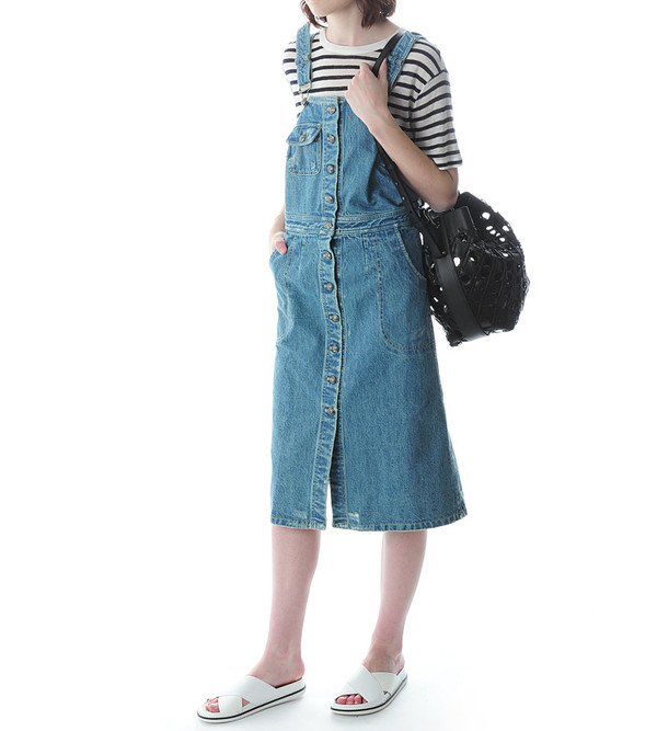 Sea NY Denim Button Up Dress