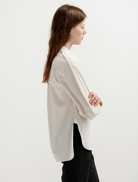 Lemaire Large Sleeve Shirt - Butter