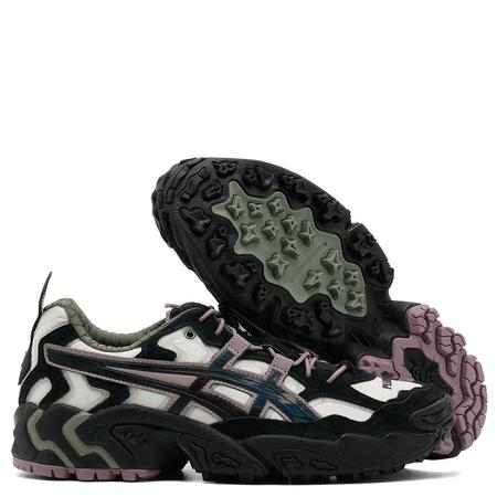 ASICS x Pleasures Gel-Nandi Sneakers - Cream/Graphite Grey