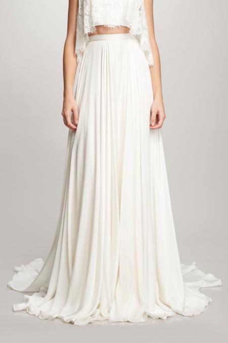 Theia Marlena Skirt - White