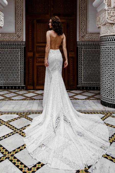 [Pre-loved] Rue De Seine Tulum Gown   RDS 10AUS - White