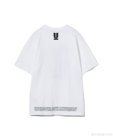 UNDERCOVER 30th Anniversary S/S Tee - White