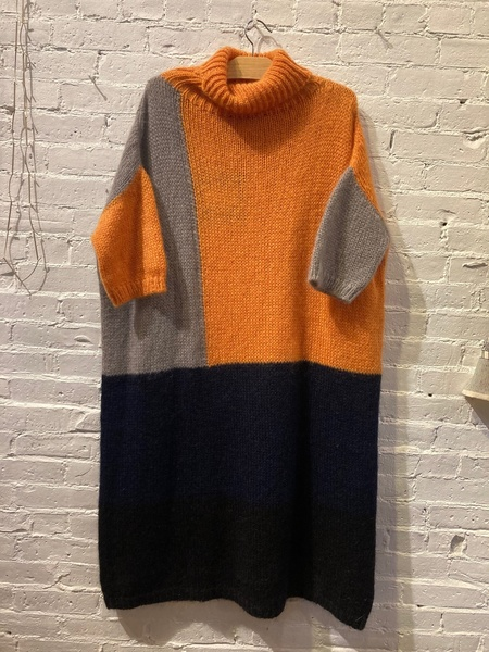Collection Privee? Color Block Sweater Dress
