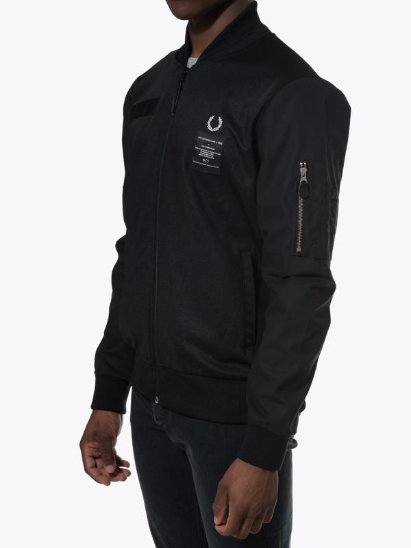 Contrast Sleeve Track Jacket