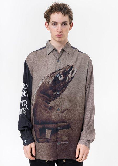 Vyner Articles Multi  Cod2 Digital Print Oversize Shirt