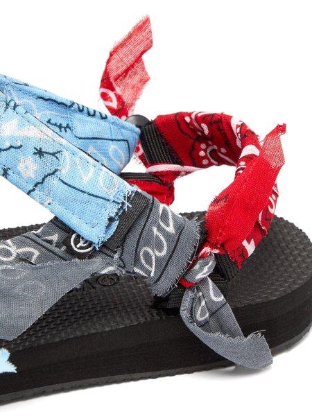 Arizona Love Trekky Bandana Sandals - Mix Blue