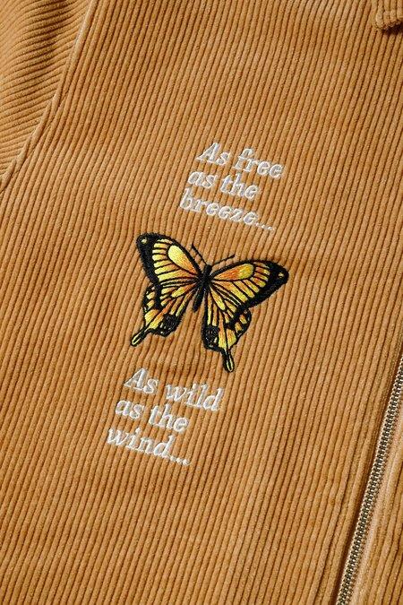 Butter Goods Butterfly Workshirt - Camel