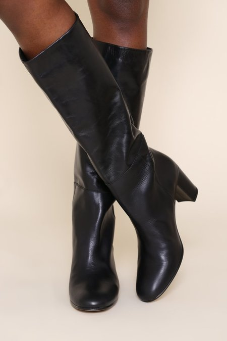 """""""INTENTIONALLY __________."""" Pam Boots - Black"""