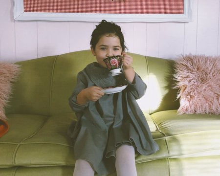 Kids Petit Mioche Organic Quilted Dress No 2