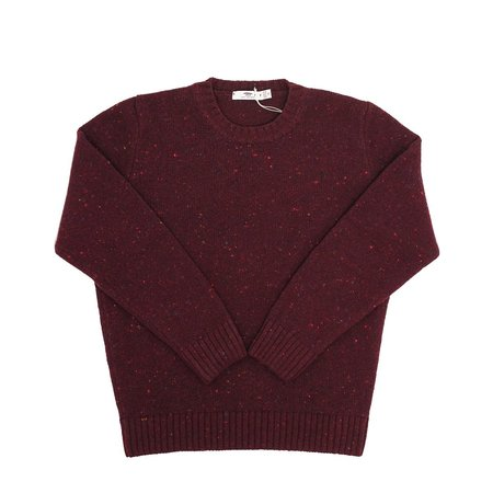 Inis Meáin Donegal Sweater - Red