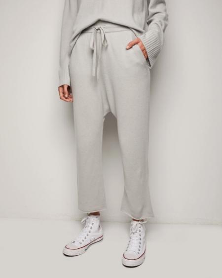 Nili Lotan Luna Sweatpant - Smokey Grey