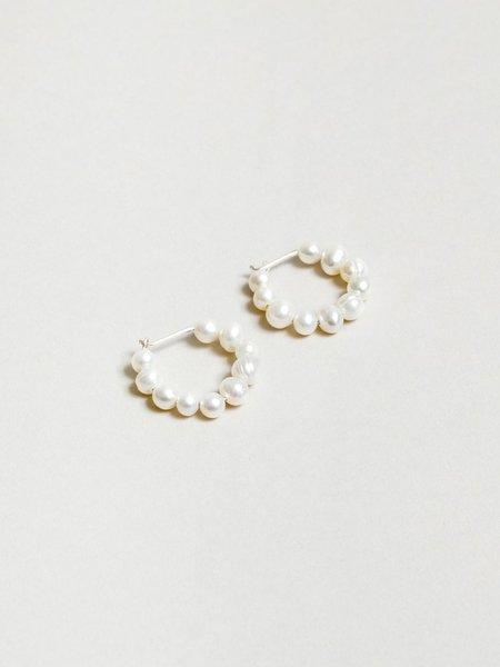 Wolf Circus Estelle Earrings - Pearl