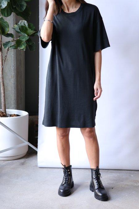 Raquel Allegra T-Shirt Dress - Black