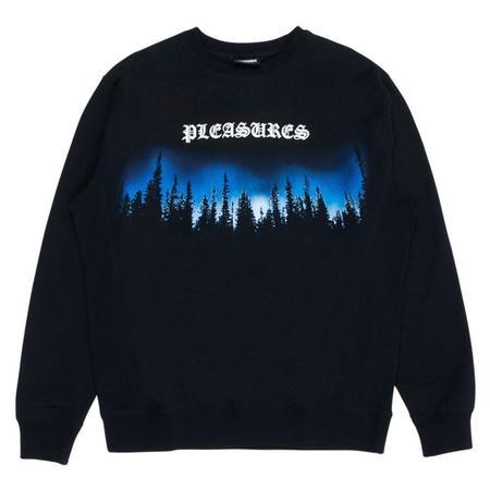 PLEASURES Premium Crewneck Sweater - Black