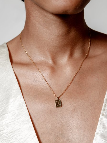 Wolf Circus Serene Necklace - 14k Gold plated