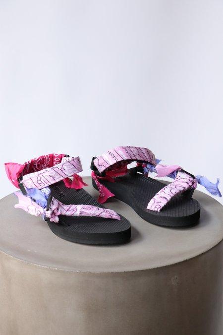 Arizona Love Trekky Bandana Sandals - Mix Pink