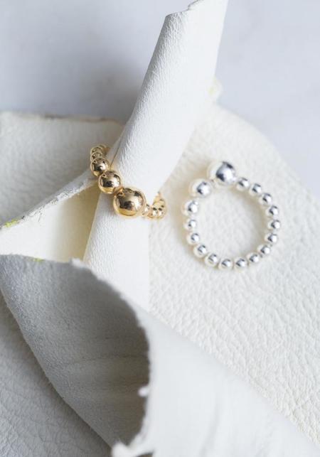 Saskia Diez Drop Ring - Sterling Silver