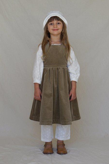 KIDS House Of Paloma Juliette Pinafore dress - Caper