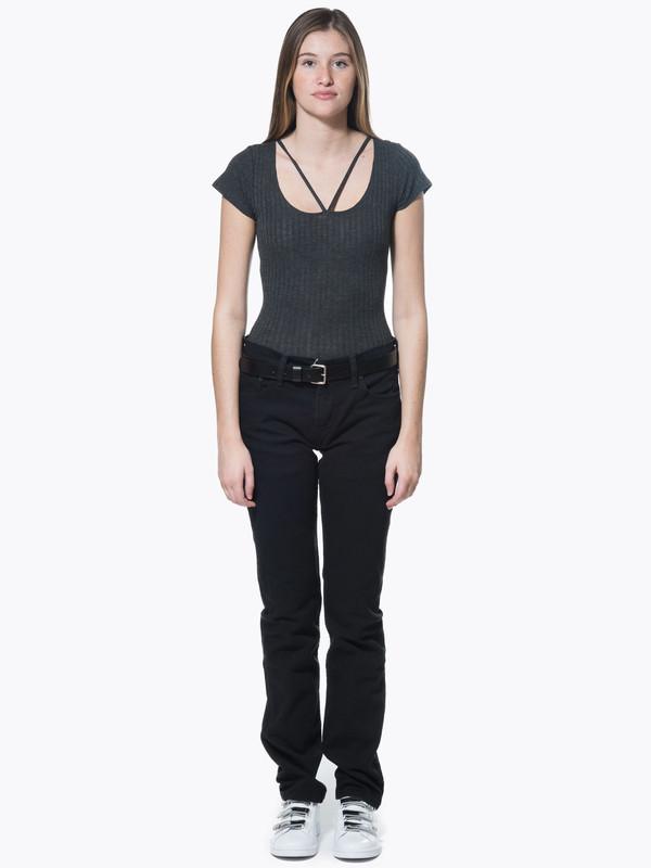 LNA Strappy Tee Bodysuit