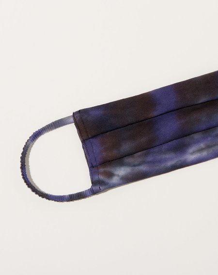 Raquel Allegra Mask - Night Orchid Tie Dye