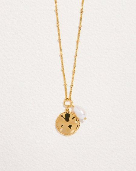 Pamela Love Sara Coin Pearl Necklace