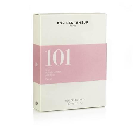 Bon Parfumeur 101 Rose, Sweet Pea, & White Cedar Eau de Parfum