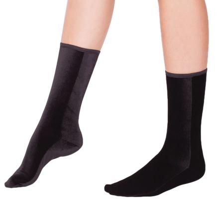 Simone Wild Socks - Black/Velvet