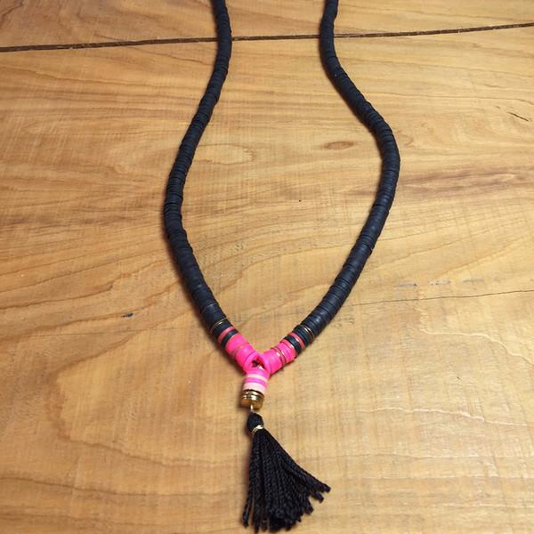 Iwona Ludgya Arrow Tassel Necklace