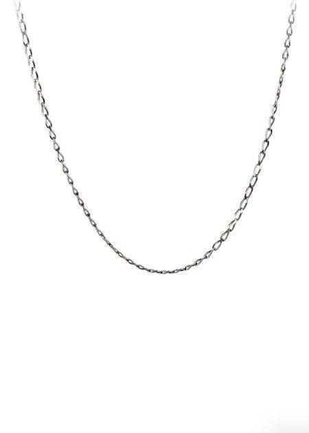 Pyrrha Medium Open Curb Chain - Silver