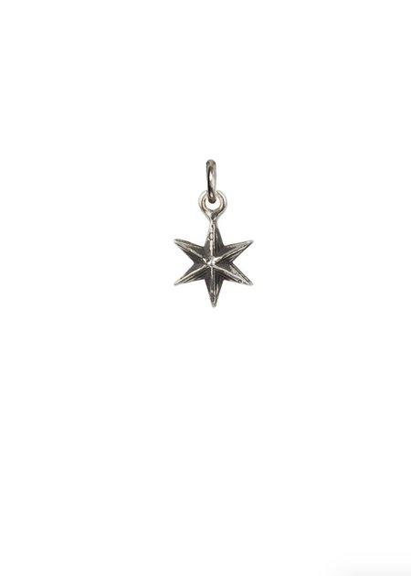 Pyrrha Star Symbol Charm - Silver