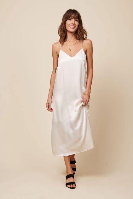 Whimsy + Row Jade Dress - Cream